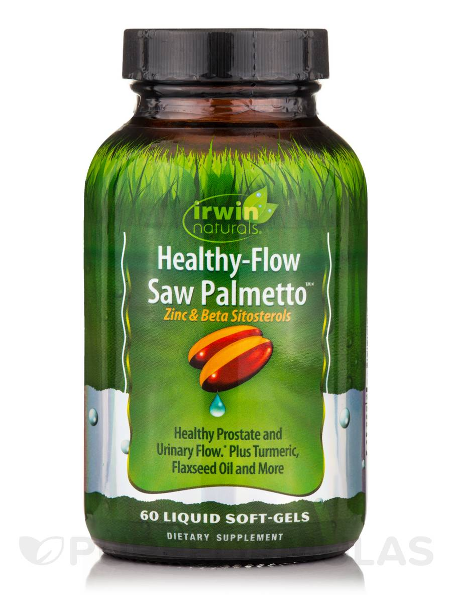 Healthy-Flow Saw Palmetto™ - 60 Liquid Soft-Gels
