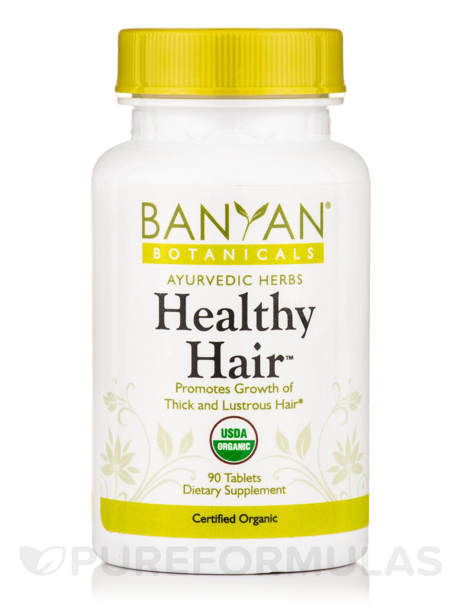 Healthy Hair, Organic - 90 Tablets