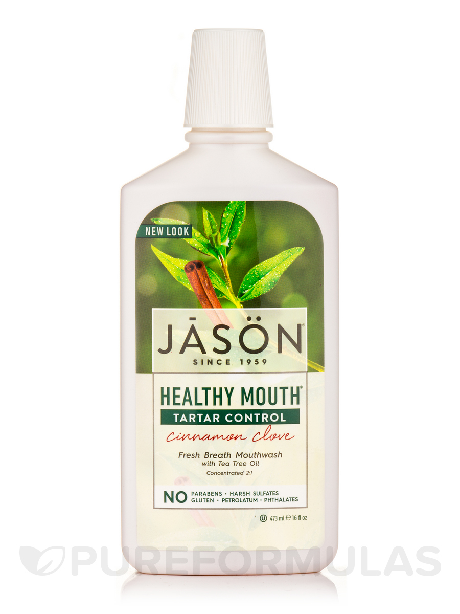 Healthy Mouth Tartar Control Mouthwash Cinnamon Clove - 16 fl. oz (473 ml)