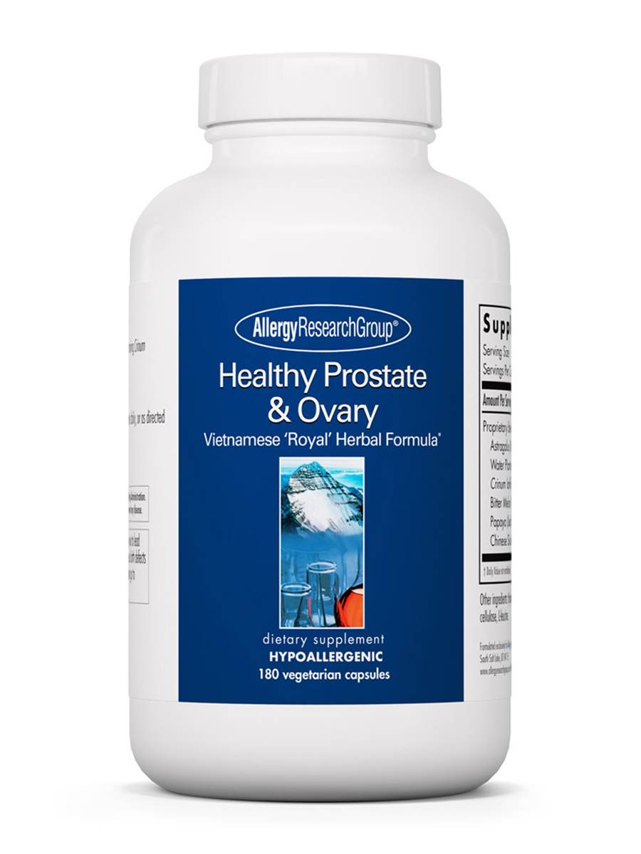 Healthy Prostate & Ovary - 180 Vegetarian Capsules