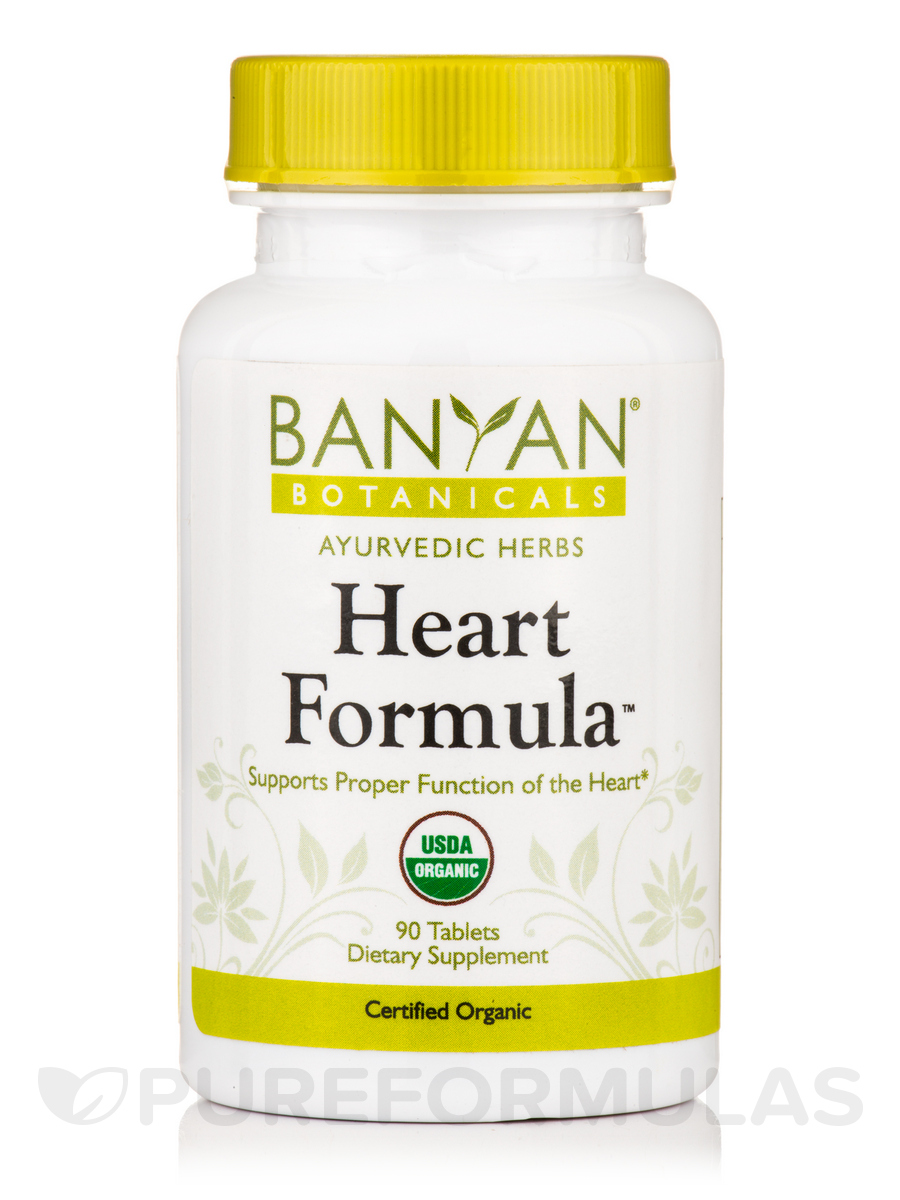 Heart Formula, Organic - 90 Tablets