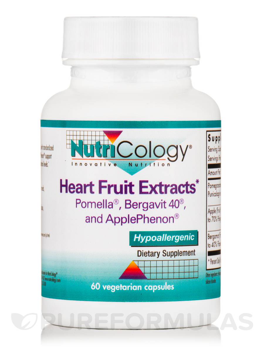 Heart Fruit Extracts - 60 Vegetarian Capsules