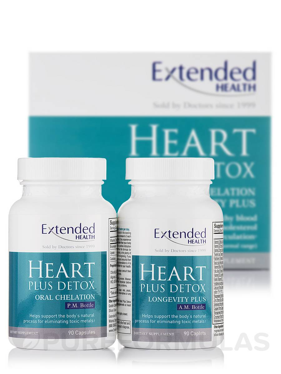 Heart Plus Detox I - 180 Count