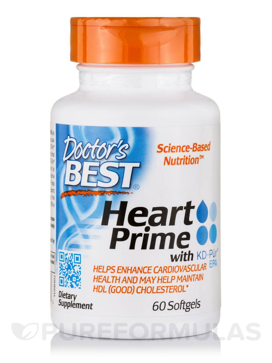 Heart Prime with KD-Pür® EPA - 60 Softgels