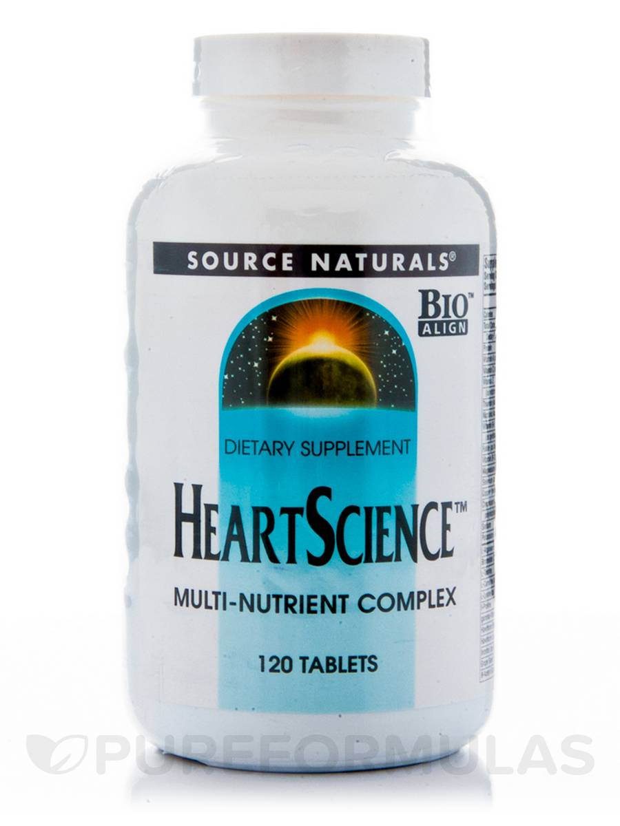 Heart Science - 120 Tablets