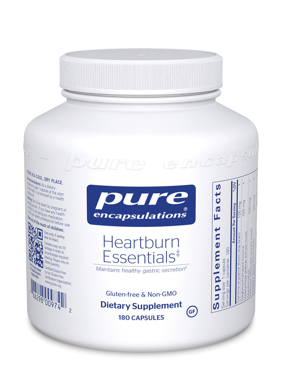 Heartburn Essentials - 180 Capsules