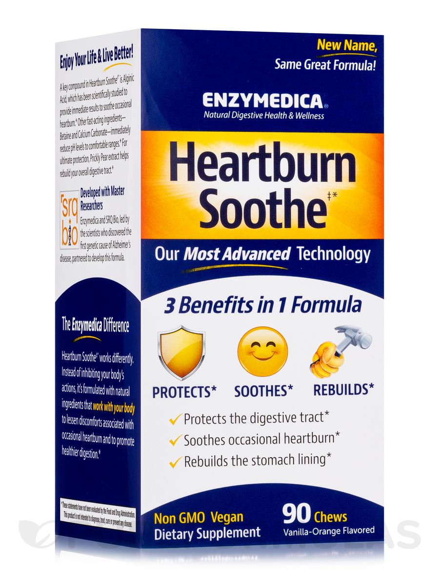 Heartburn Relief, Vanilla-Orange Flavored - 90 Chews