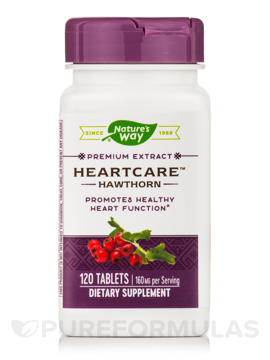 HeartCare Hawthorn Extract - 120 Tablets