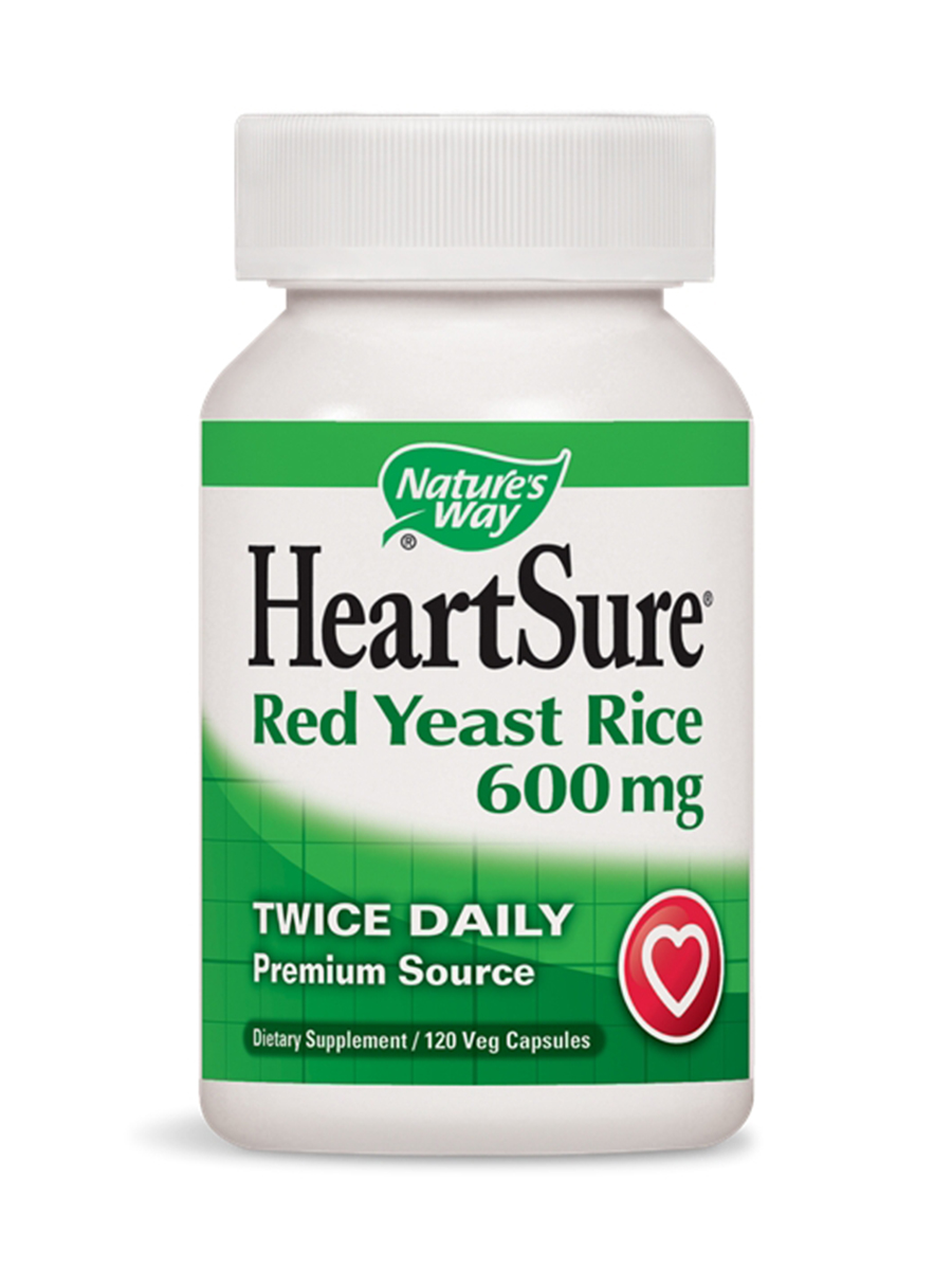 HeartSure Red Yeast Rice 600 mg - 120 VCaps
