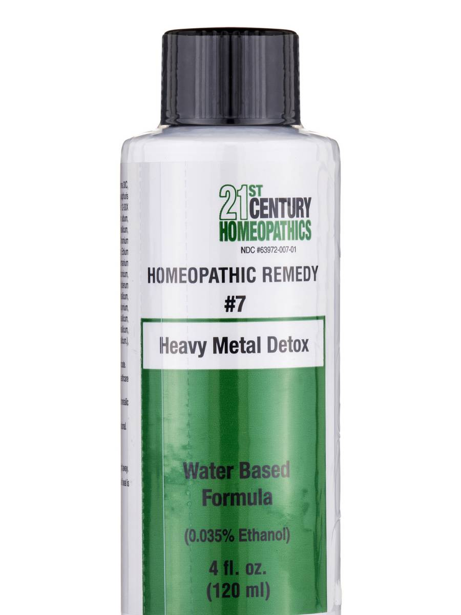 Heavy Metal Detox - 4 fl. oz (120 ml)