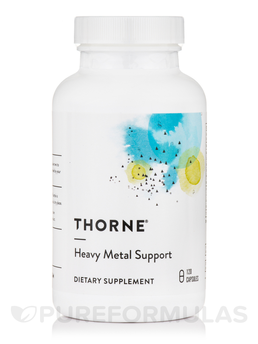 Heavy Metal Support - 120 Vegetarian Capsules