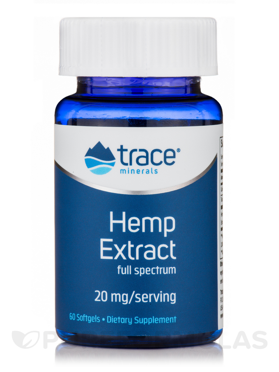 Hemp Extract (20 mg Soft Gels) - 60 Softgels