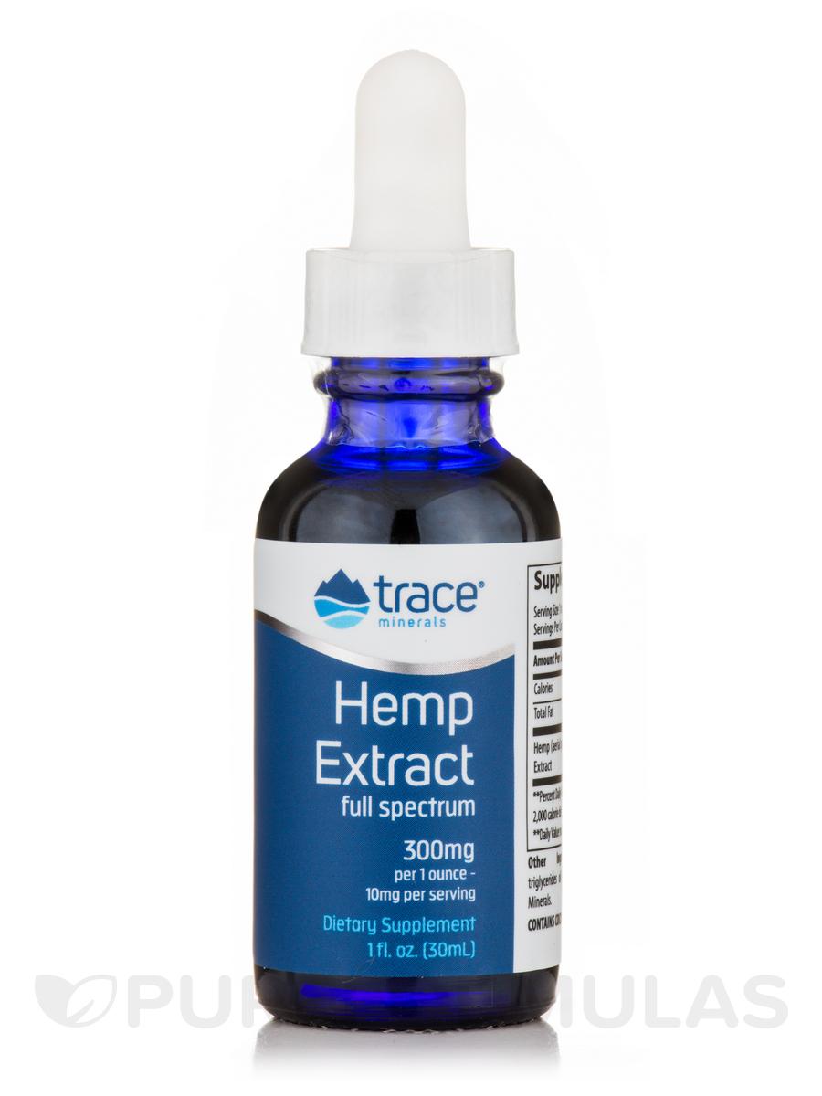 Hemp Extract (300 mg per 1 ounce) - 1 fl. oz (30 ml)