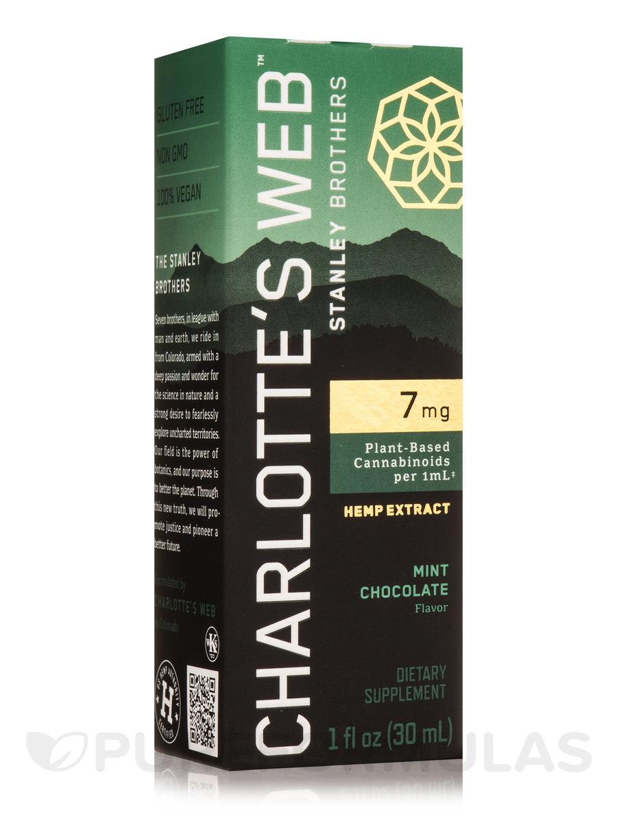 Hemp Extract Oil, Mint Chocolate Flavor - 1 fl oz. (30 ml)