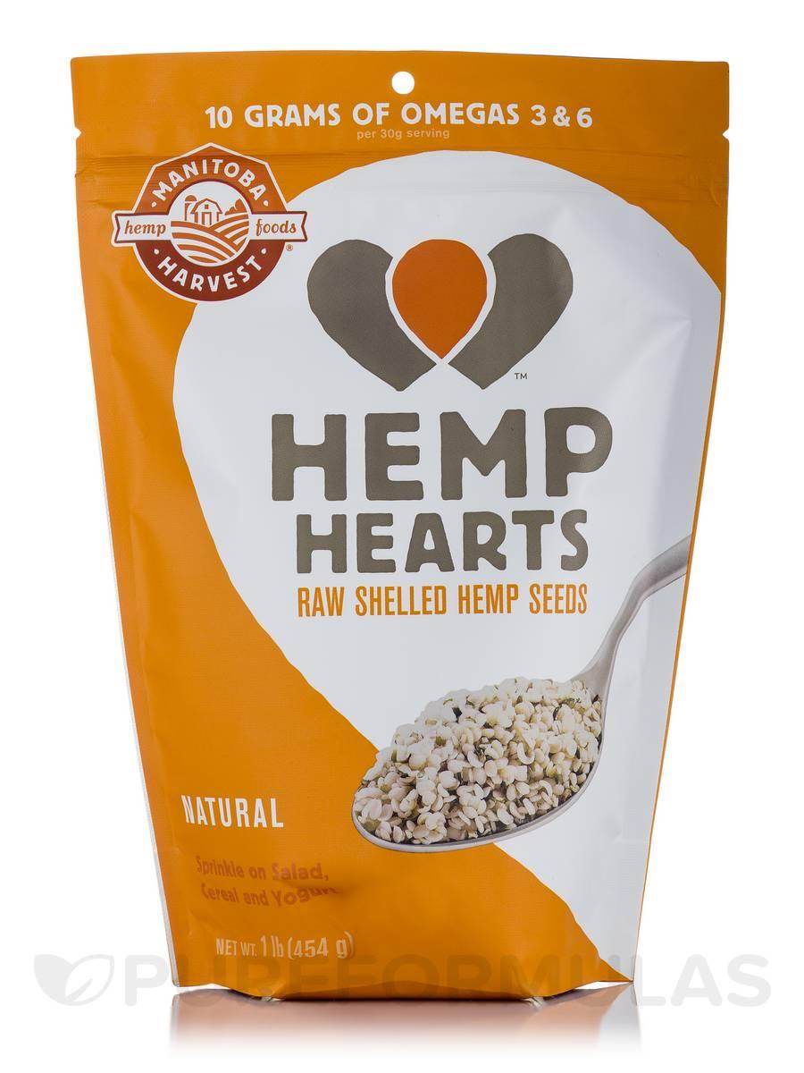 Natural Hemp Hearts - 16 oz (454 Grams)