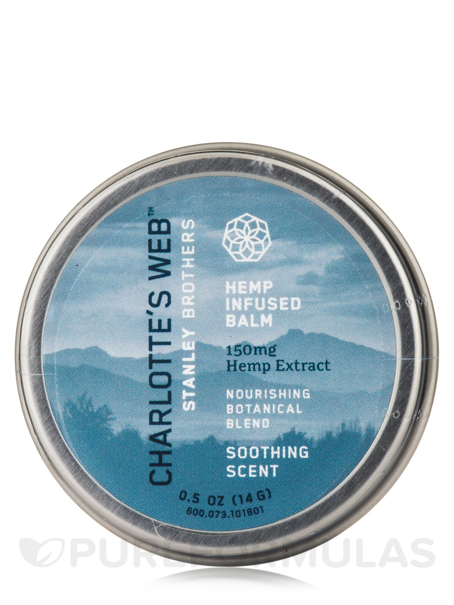 Hemp Infused Balm 150 mg, Soothing Scent - 0.5 oz (15 ml)