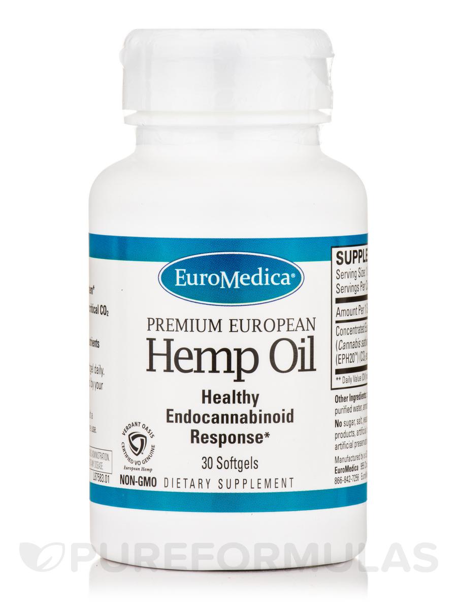 Hemp Oil - 30 Softgels