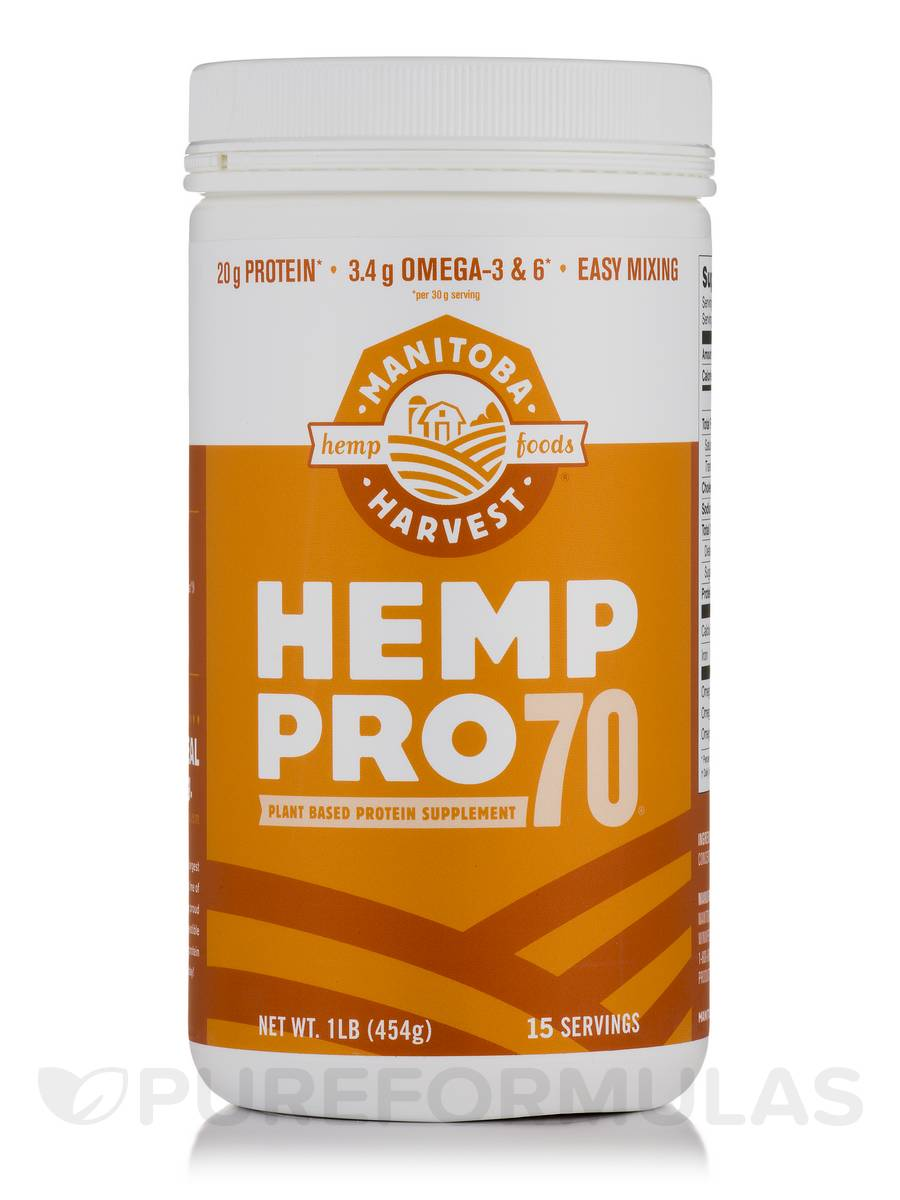 Hemp Pro 70 (Original) - 16 oz (454 Grams)