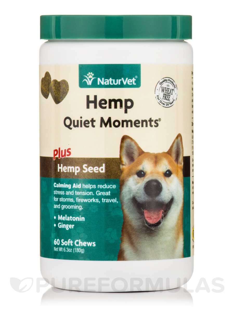 Hemp Quiet Moments Calming Aid - 60 Soft Chews