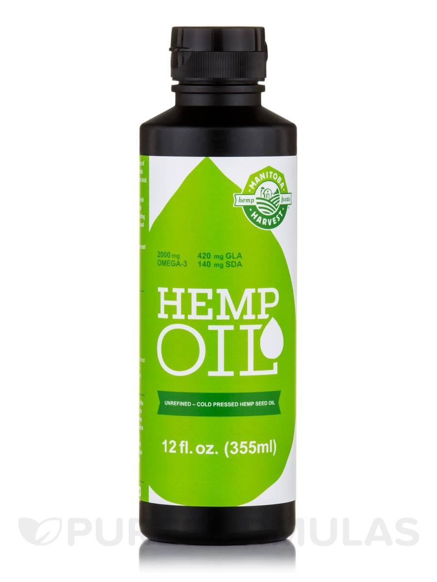 Hemp Oil - 12 fl. oz (355 ml)