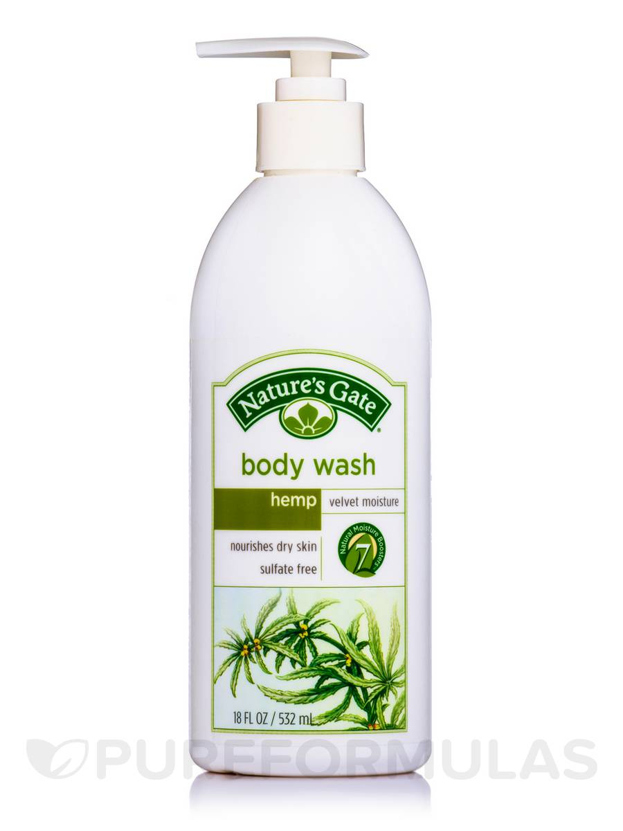 Hemp Velvet Moisture Body Wash - 18 fl. oz (532 ml)