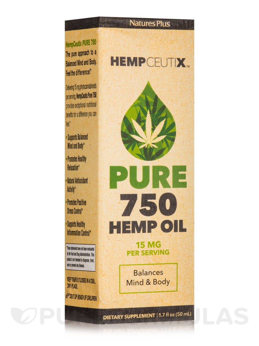 HempCeutix™ Pure Hemp Oil 750 mg - 1.7 fl. oz (50 ml)