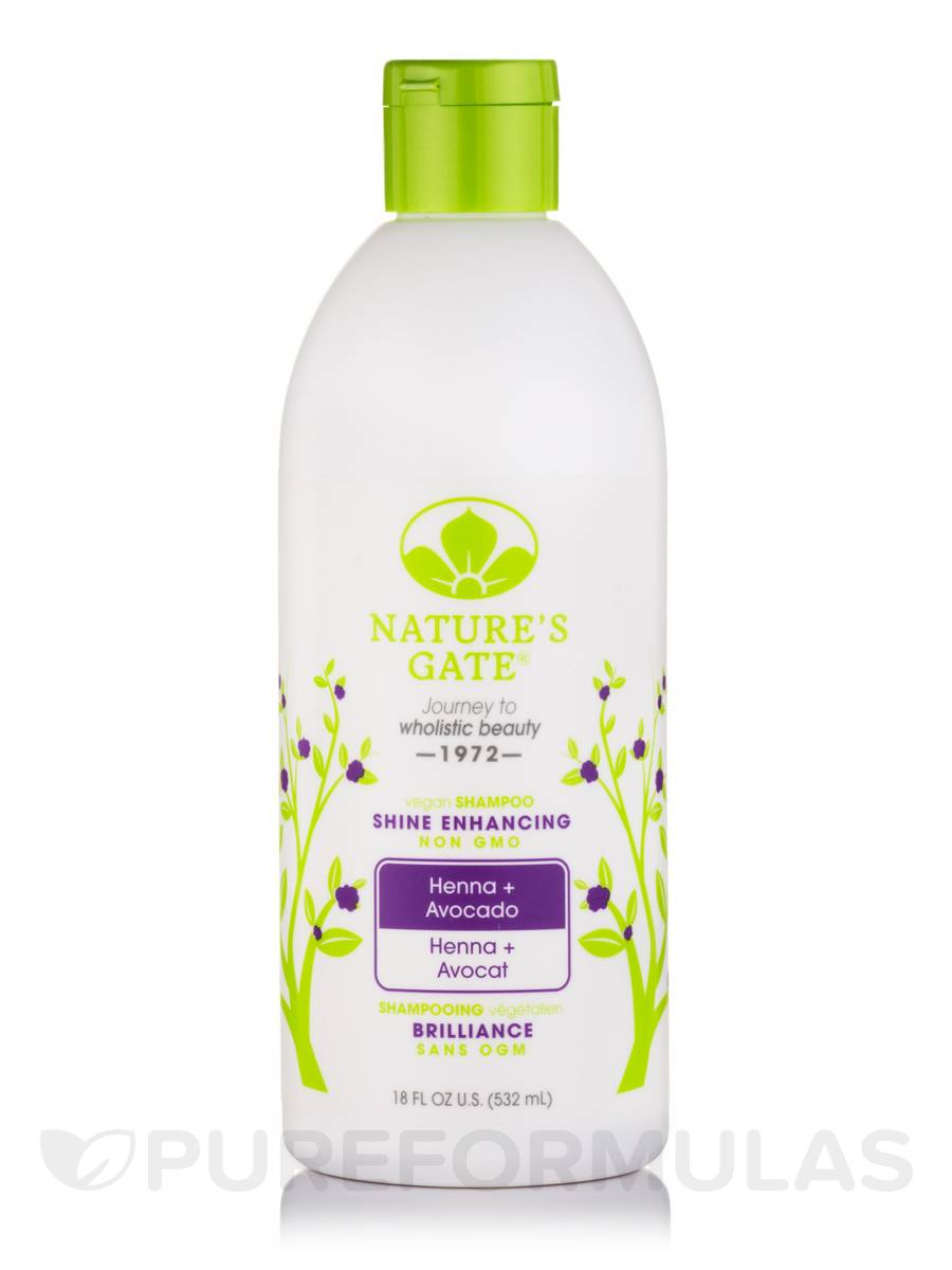 Henna + Avocado Shine Enhancing Shampoo - 18 fl. oz (532 ml)