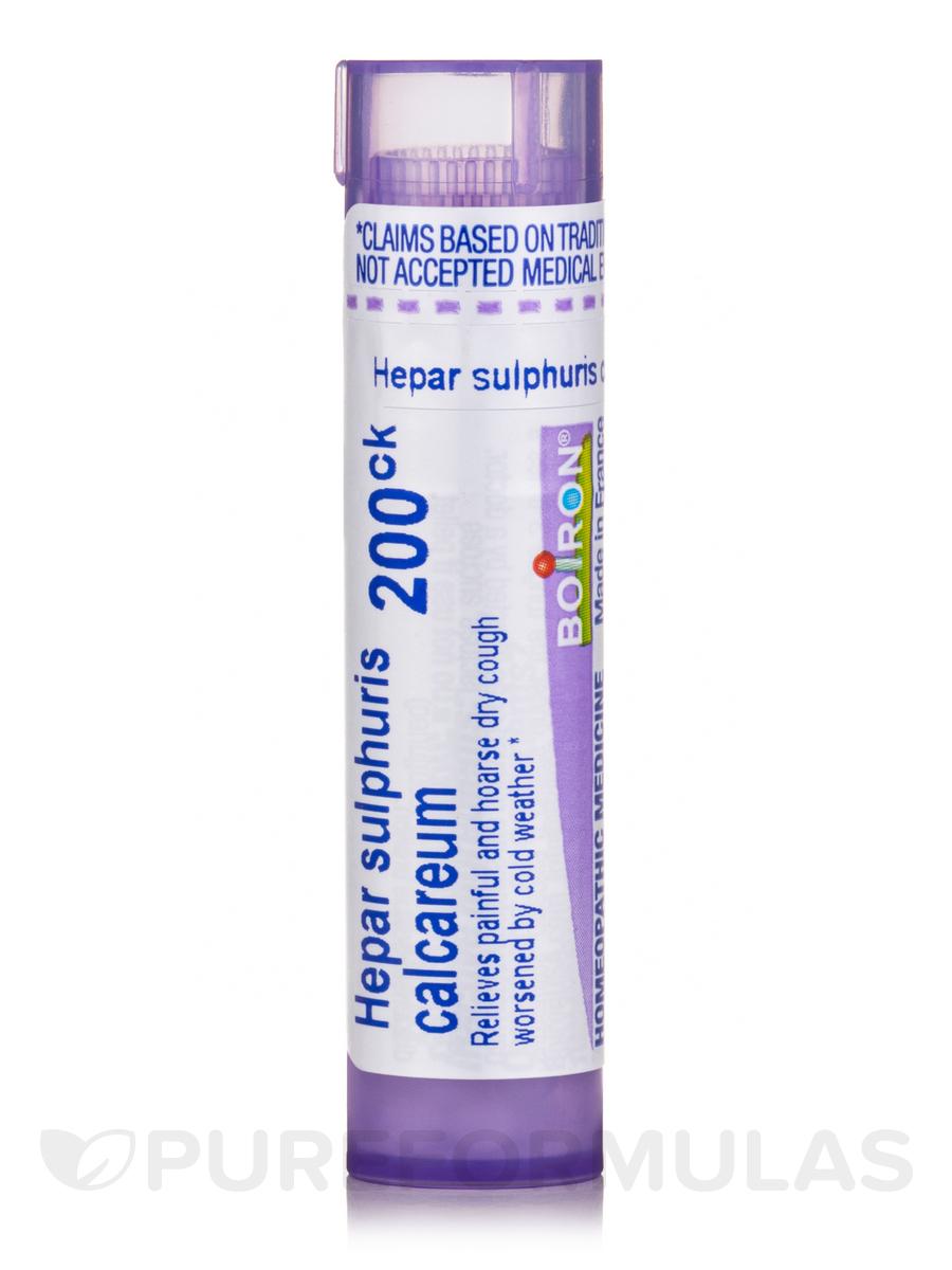 Hepar Sulphuris Calcareum 200ck