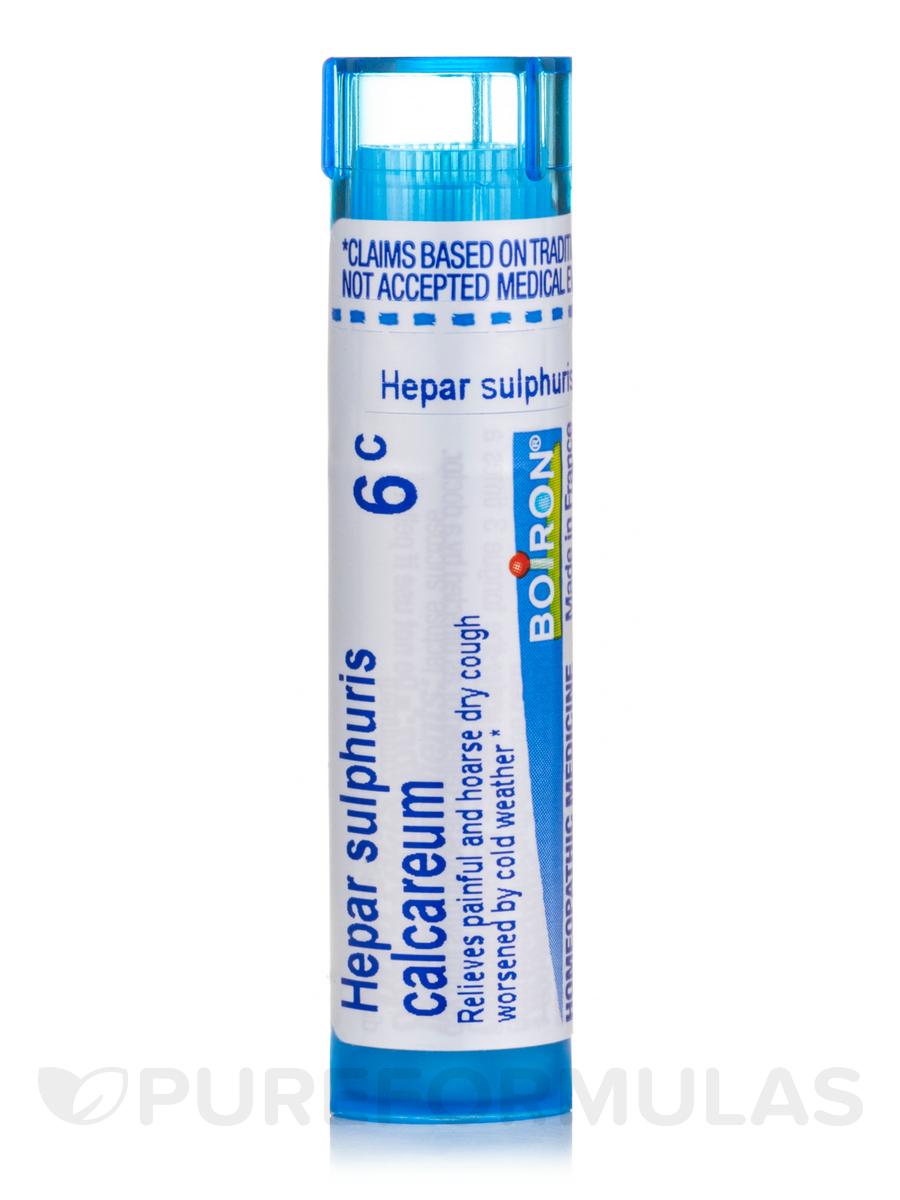 Hepar Sulphuris Calcareum 6c