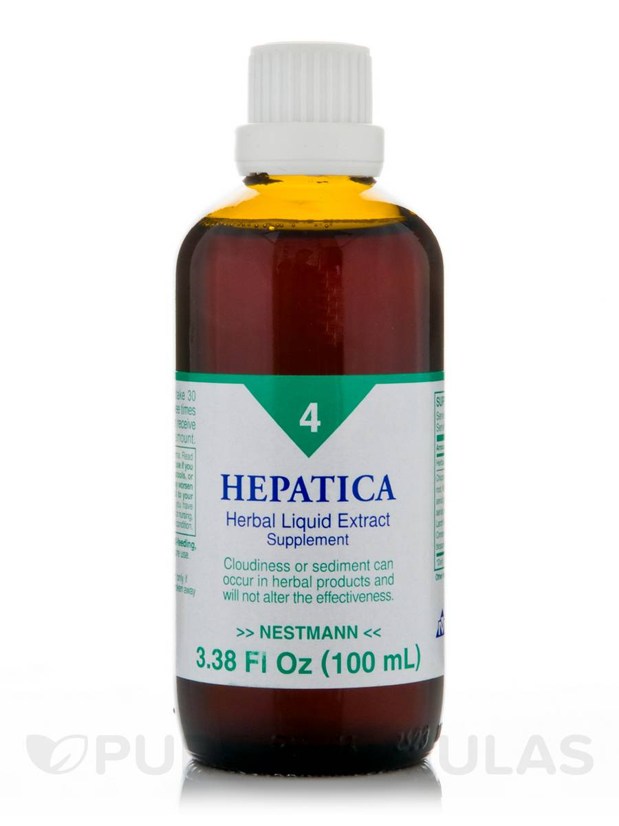 Hepatica Herbal Liquid Extract - 3.38 fl. oz (100 ml)