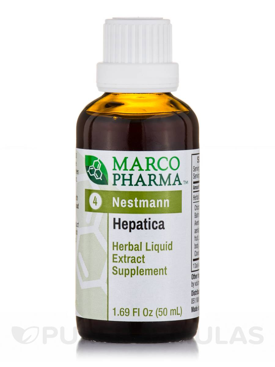 Hepatica Herbal Liquid Extract - 1.69 fl. oz (50 ml)