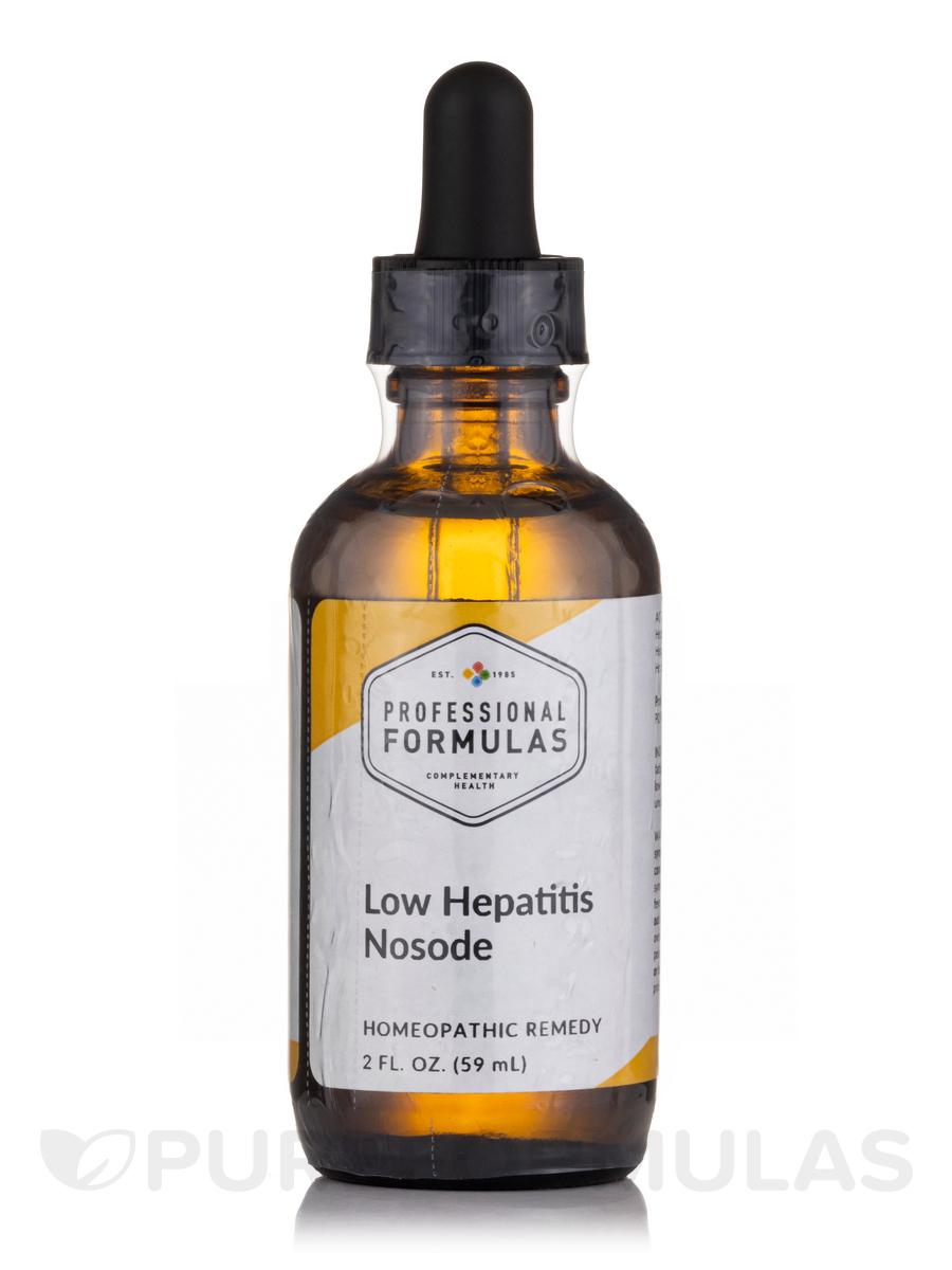 Hepatitis Nosode (Low) - 2 fl. oz (60 ml)