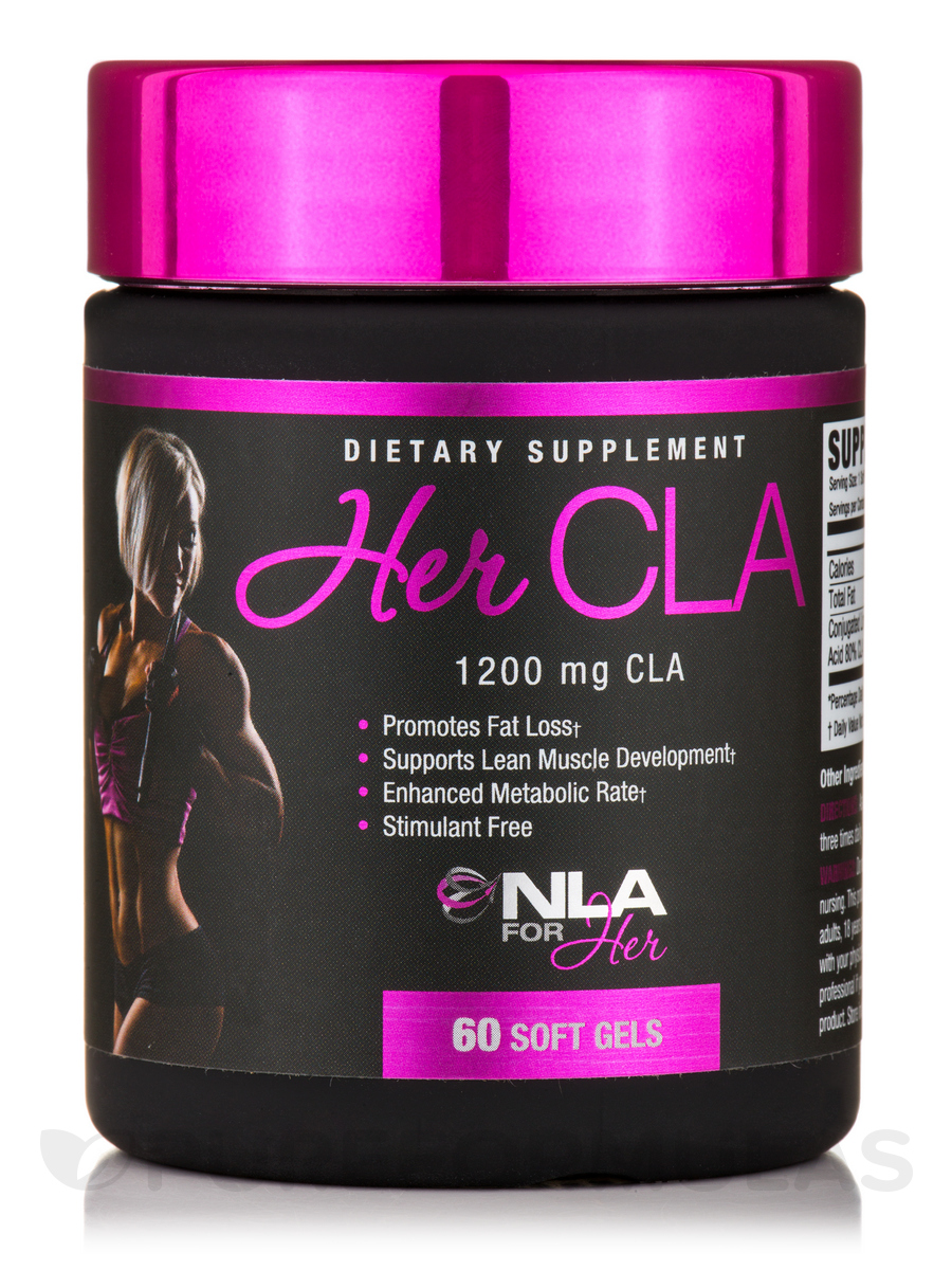 Her CLA 1200 mg - 60 Softgels