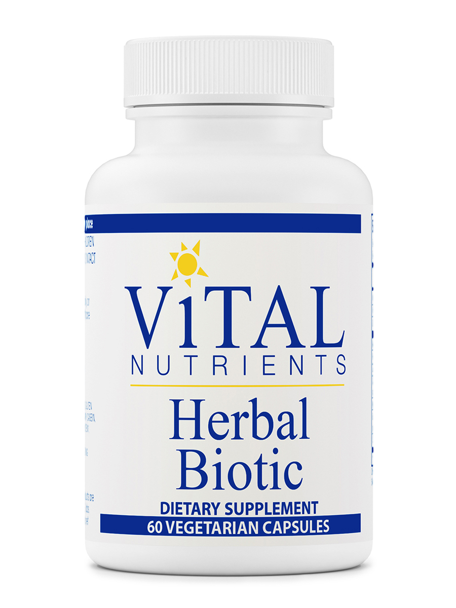 Herbal Biotic - 60 Vegetarian Capsules