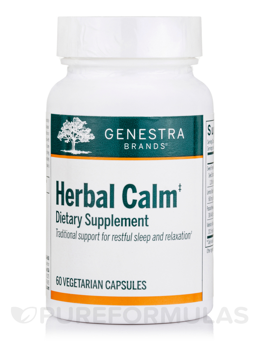 Herbal Calm - 60 Vegetable Capsules