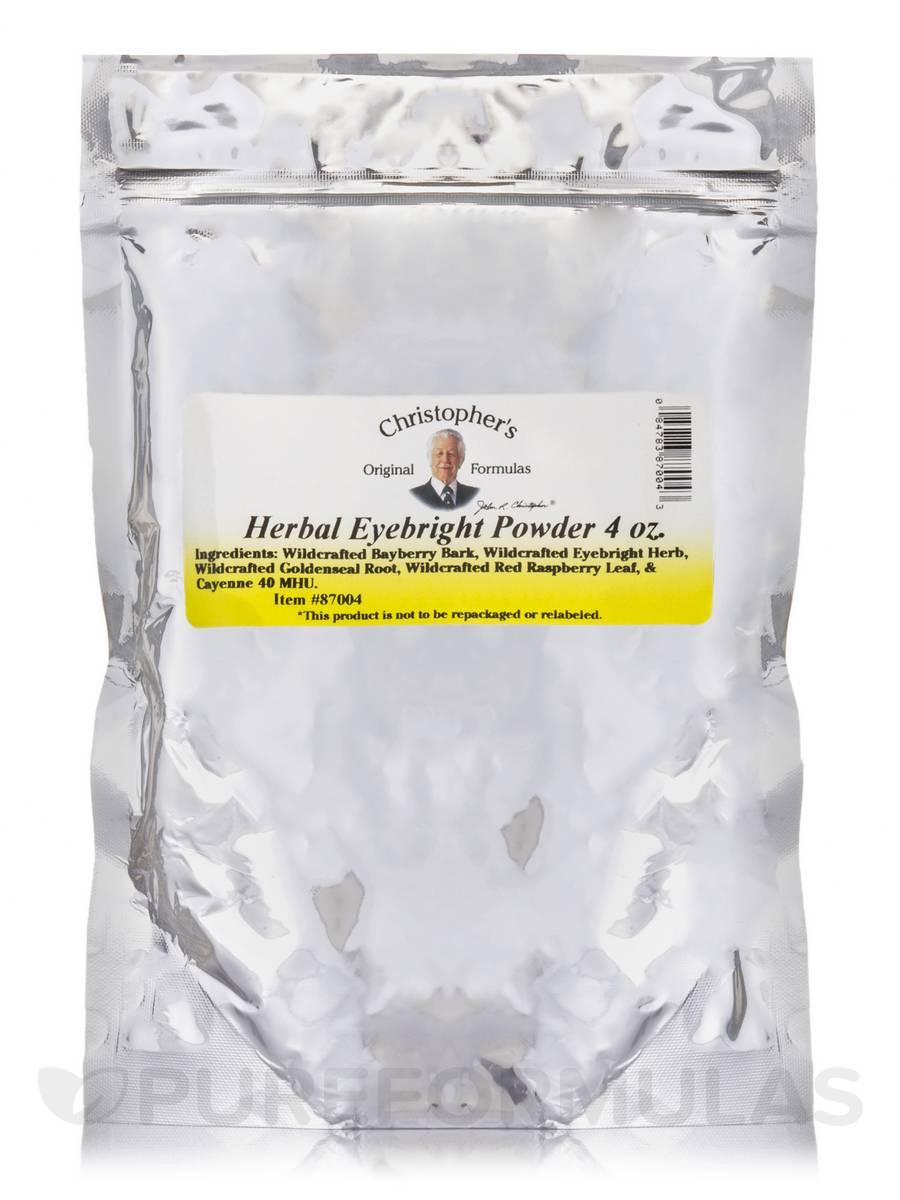Herbal Eyebright Powder - 4 oz
