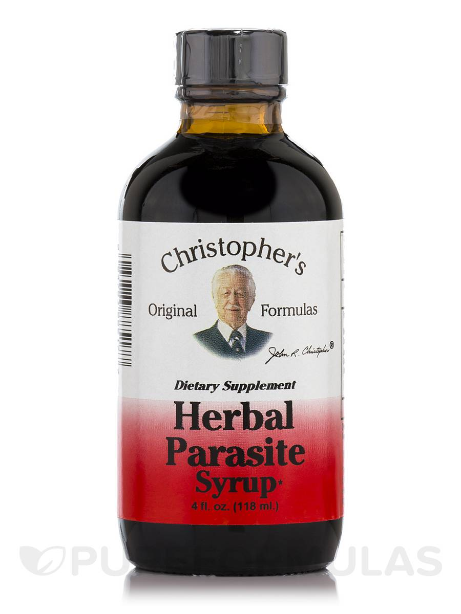 Herbal Parasite Syrup - 4 fl. oz (118 ml)