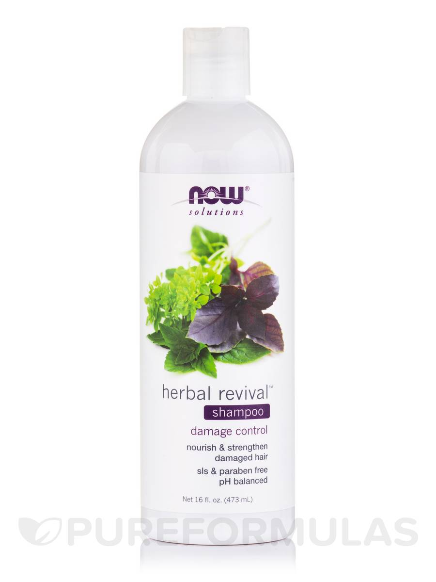 NOW® Solutions - Herbal Revival Shampoo - 16 fl. oz (473 ml)