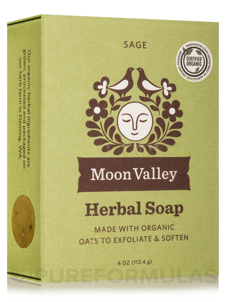 Herbal Soap Bar, Sage - 4 oz (113.4 Grams)
