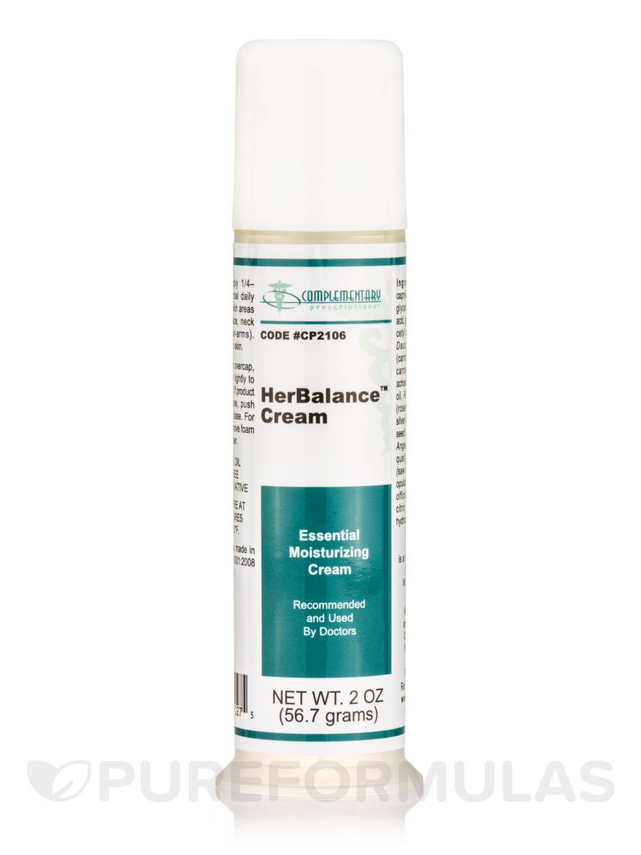 HerBalance Cream Pump - 2 oz (56.8 ml)