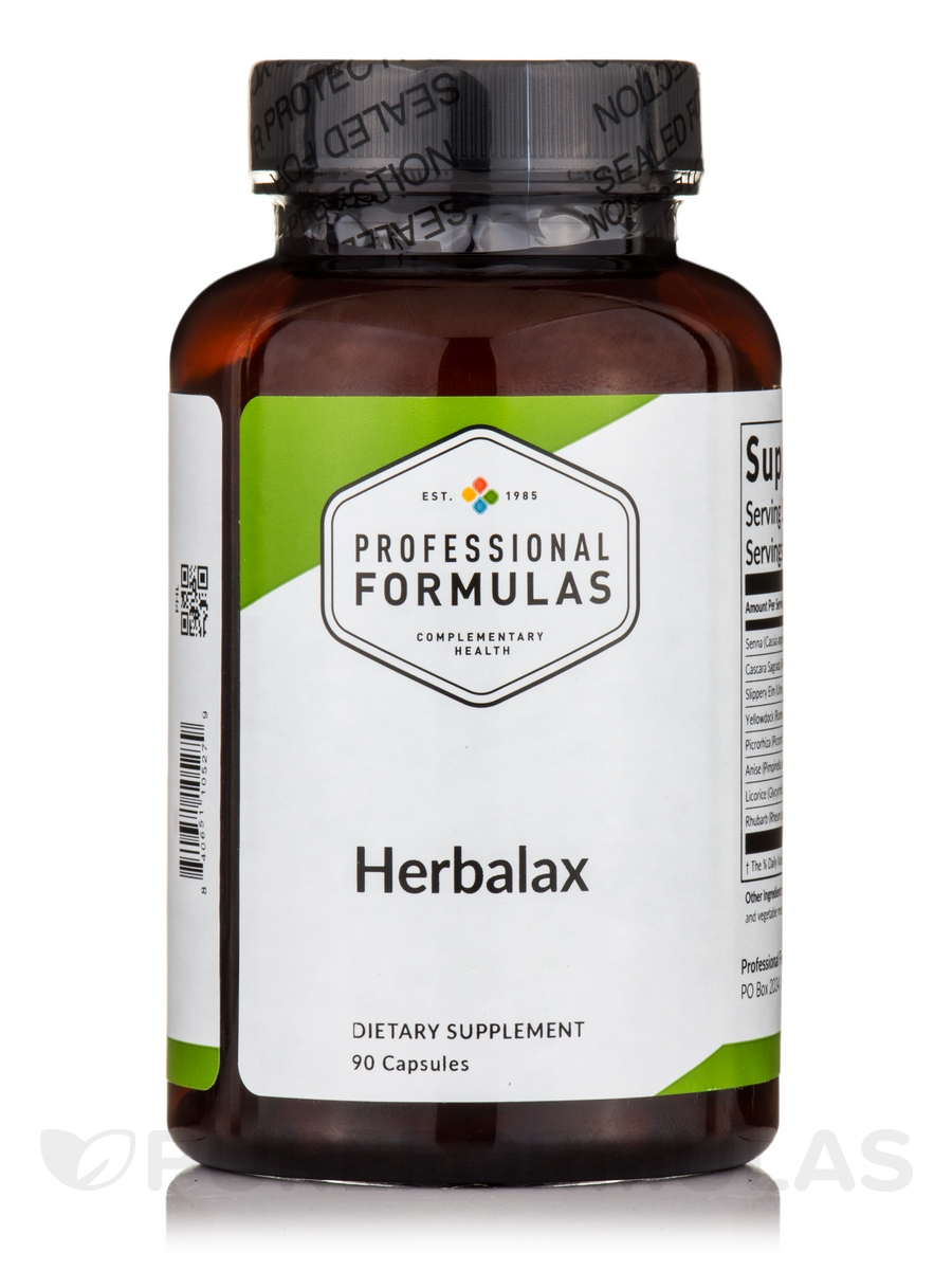 Herbalax (Herbal Laxative) - 90 Capsules