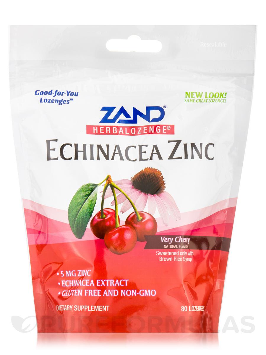 HerbaLozenge® Echinacea Zinc (Very Cherry Natural Flavor) - 80 Lozenges