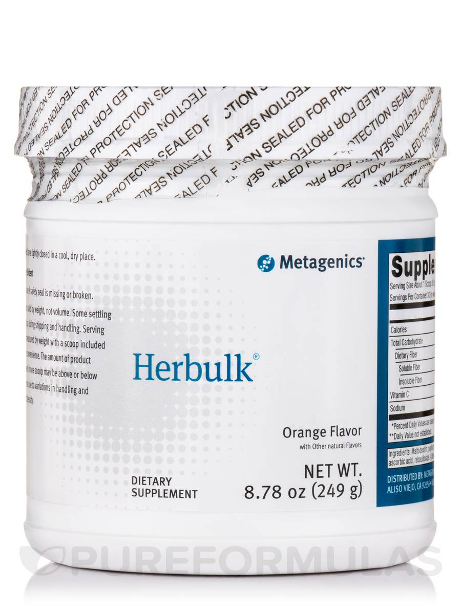 Herbulk Powder (Natural Orange Flavor) - 8.78 oz (249 Grams)