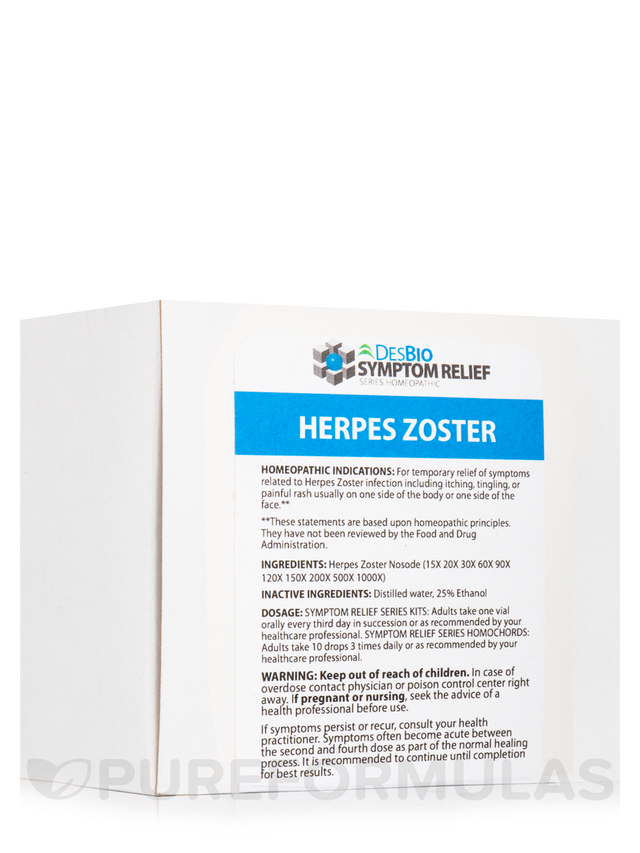 Herpes Zoster - 10 Vial Kits