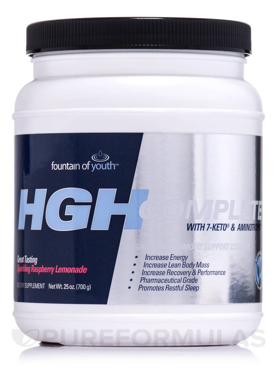 HGH Complete Raspberry Lemonade - 25 oz (700 Grams)