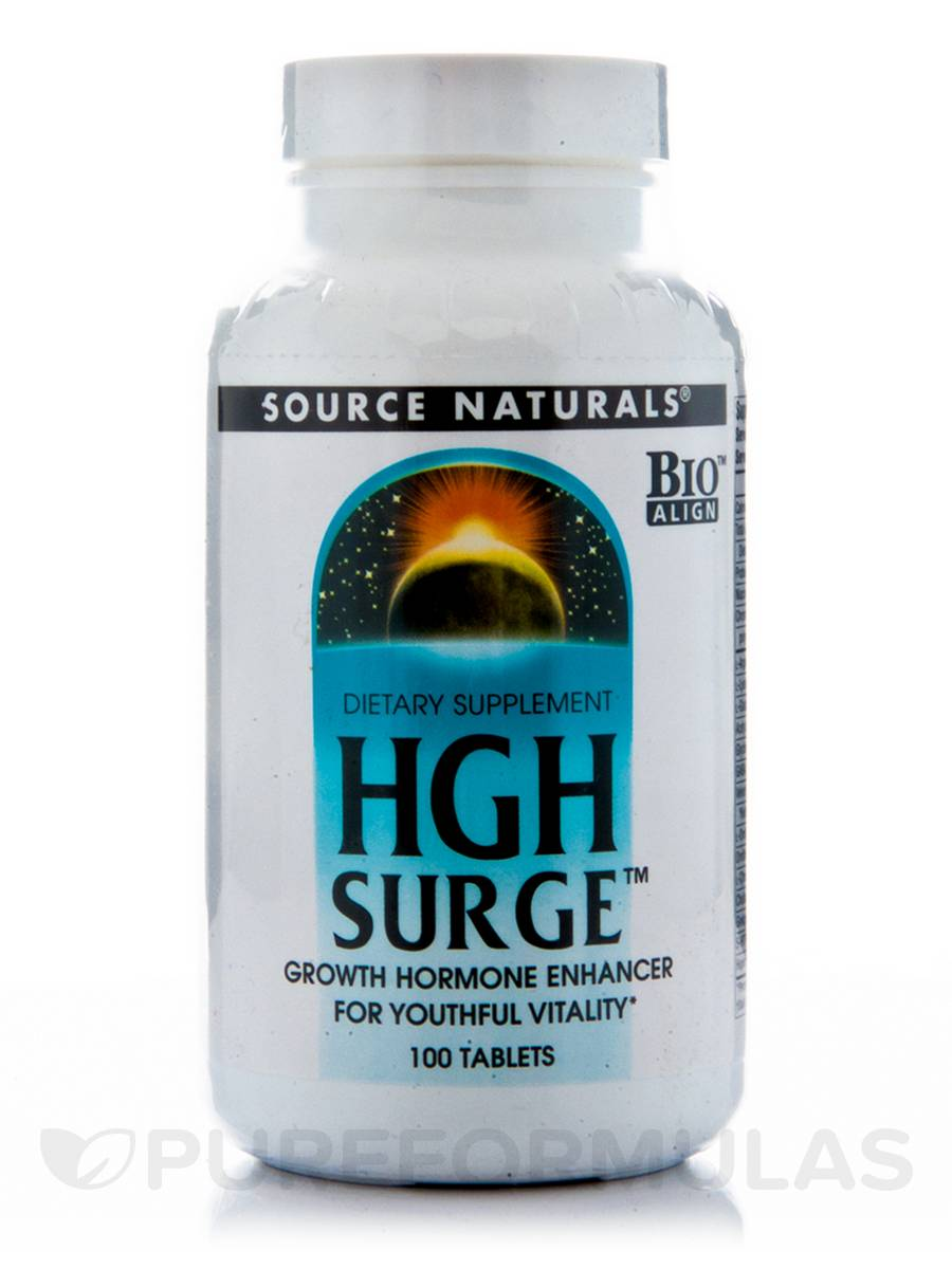 Hgh Surge Source Naturals Review