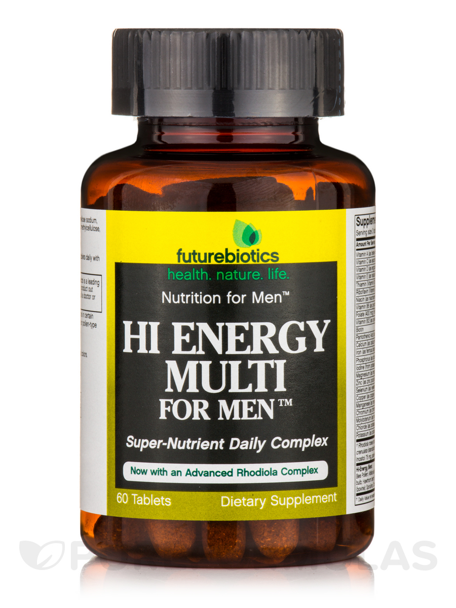 Hi Energy Multi for Men™ - 60 Tablets