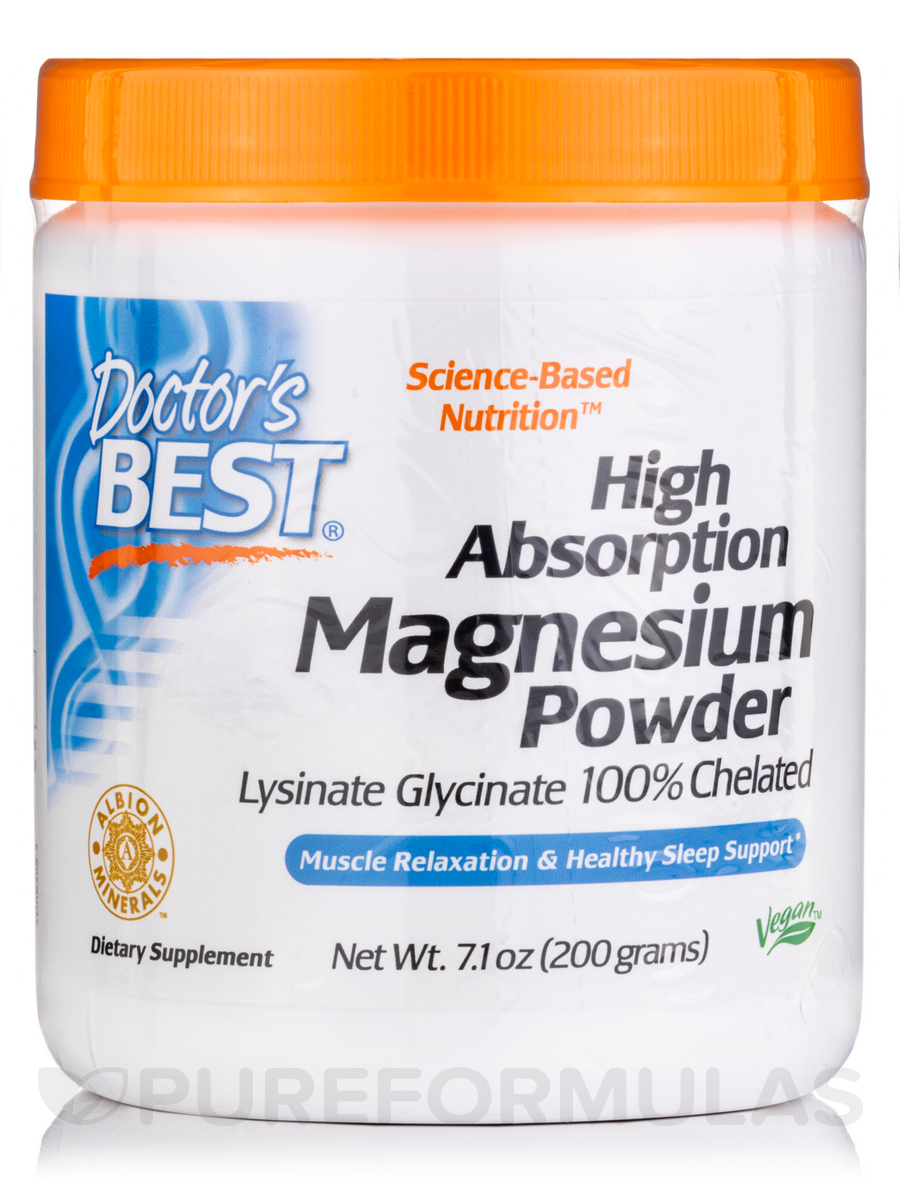 High Absorption Magnesium Powder - 7.1 oz (200 Grams)