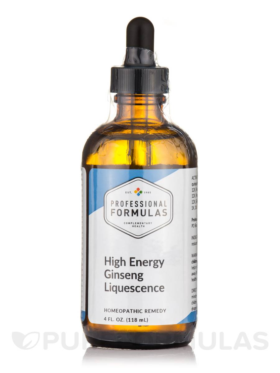 High Energy Ginseng Liquescence - 4 fl. oz (120 ml)