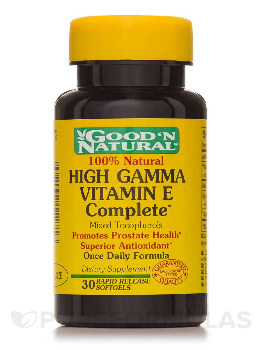 HIGH GAMMA Vitamin E Complete - 30 Softgels